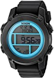 Nixon Men's 'Unit Dive' Japanese Automatic Stainless Steel and Rubber Sport Watch, Color:Black (Model: A9622238-00)