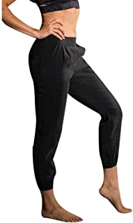 product image for Onzie Yoga Woven Jogger Pant 2019 Black