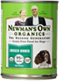 Newman's Own Organics Chicken Grain-Free Food for Dogs, 12.7-Ounce (Pack of 12)