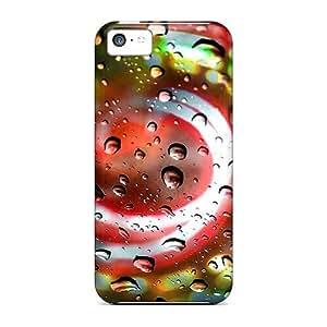 LrLHHUe833epJfR LatonyaSBlack Colorful Durable Iphone 5c Tpu Flexible Soft Case