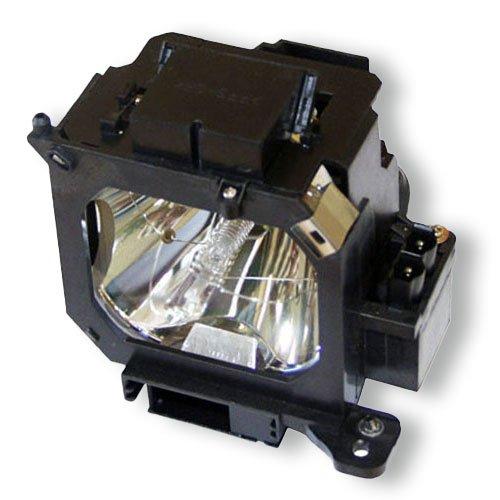 Epson EMP-7900 ハイブリッド交換用ランプ オリジナル電球とエプソンプロジェクター用の汎用ケーシング   B00FEB656S