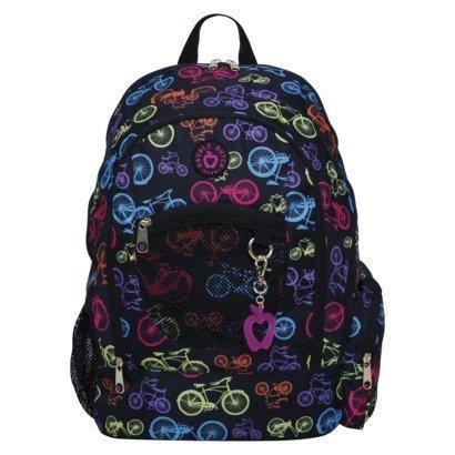 Double Dutch Club Bikes Backpack - Black