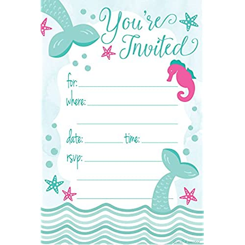 Under the Sea Invitations Amazoncom