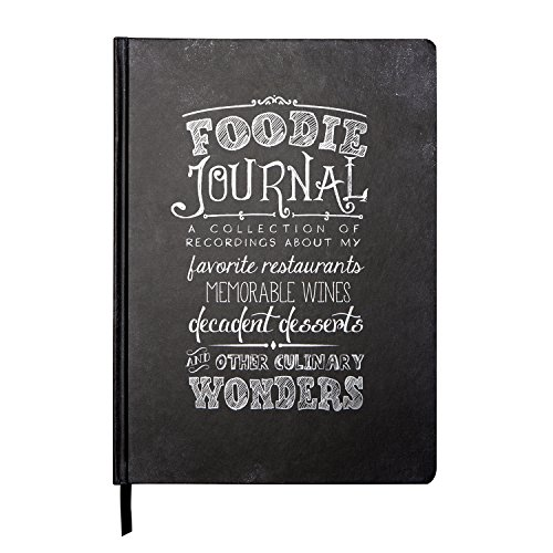 C.R. Gibson Recordable Guided Restaurant Keepsake Journal, Foodie (JS113-14344)