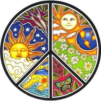 - Dan Morris - Peace - Window Sticker / Decal
