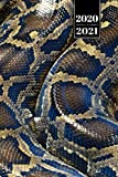 "Snake Reptile Week Planner Weekly Organizer Calendar 2020 / 2021 - Burmese Python Skin: Cute Wildlife Animal Pet Bullet Journal Notebook Diary in 6"" x 9"" Inch Pocket Size"