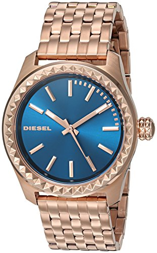 Diesel Women's 'Kray Kray' Quartz Stainless Steel Automatic Watch, Color:Rose Gold-Toned (Model: DZ5509)