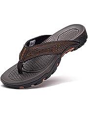 GUBARUN Mens Sport Flip Flops Comfort Casual Thong Sandals Outdoor