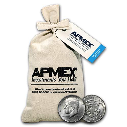1964 Silver Kennedy Half-Dollars $100 Face-Value Bag (1964) Half Dollar Very Good