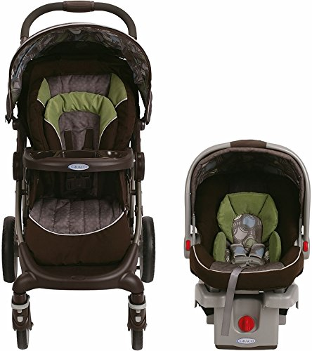 Graco Stylus Click Connect Travel System Stroller with car seat and base - Roundabout
