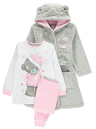 9c9ac3d33 Me To You Tatty Teddy Girls Fleece Hooded Dressing Gown   Pyjamas ...