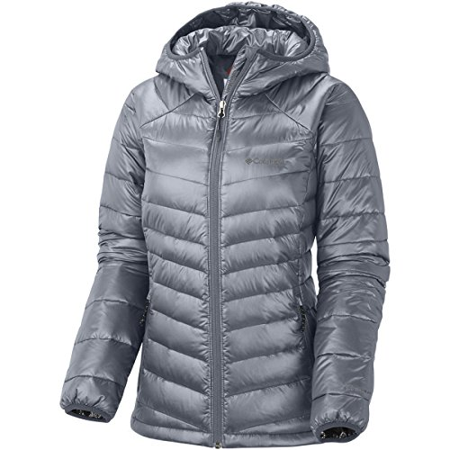 Columbia Women's Gold 650 TurboDown Hdd Jacket S GRAY