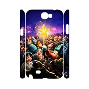 Chinese Disney All Characters Personalized 3D Cover Case for Samsung Galaxy Note 2 N7100,custom Chinese Disney All Characters Case