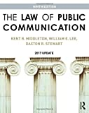 The Law of Public Communication: 2017 Update