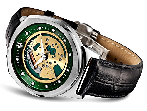 a Alpha Collection Men Watch 96a155 (Accutron Band Wrist Watch)