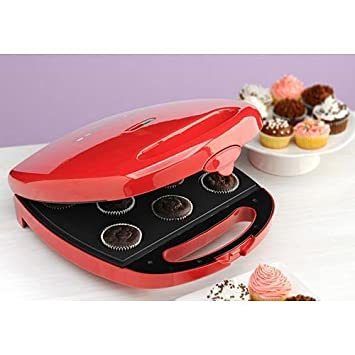 Amazoncom BabyCakes CC22 Cupcake Maker Red Electric Griddles