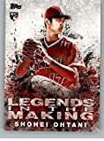 2018 Topps Legends in the Making #LITM-2 Shohei Ohtani Los Angeles Angels Baseball Card