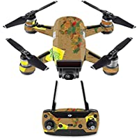 Skin for DJI Spark Mini Drone Combo - World Peace  MightySkins Protective, Durable, and Unique Vinyl Decal wrap cover   Easy To Apply, Remove, and Change Styles   Made in the USA