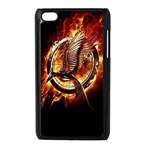 Cheap Plstic Case for iPod touch4 w/ The Hunger Games image at Hmh-xase (style 2)