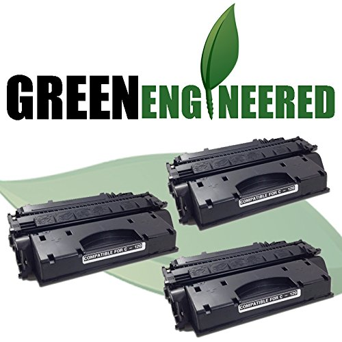 Cartridge Triple Pack (GreenEngineered Canon 120 Compatible Black Toner Cartridge (2617B001AA) Triple Pack for imageCLASS D-1120, D-1150, D-1170, D-1180 Laser Printers)