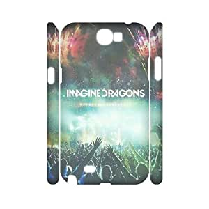 LTTcase Custom Imagine Dragons 3D Back Cover for samsung galaxy note2 n7100
