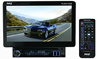 Pyle 10.1-Inch Bluetooth and GPS Navigation Headunit Receiver