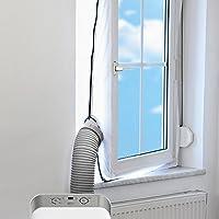 TROTEC AirLock 100 Fensterabdichtung für Klimageräte und Ablufttrockner Hot...