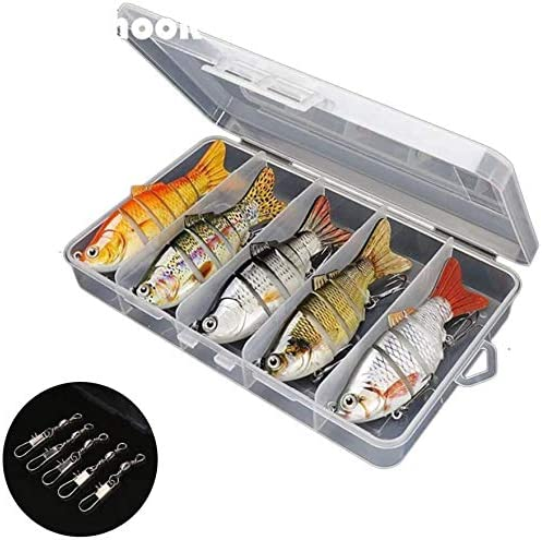 Suitable for all kinds of fish 5x Bionic Swimming lure