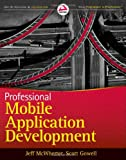 Professional Mobile Application Development, Jeff McWherter and Scott Gowell, 1118203909
