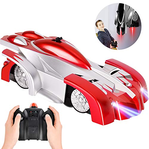ROOYA BABY Toys for 8 Year Old Boys Girls,Remote Control Car Kids Toys USB Rechargeable,Stunt Vehicle Race Car 5 6 7 9 Year Old Boys Girls Gifts Red
