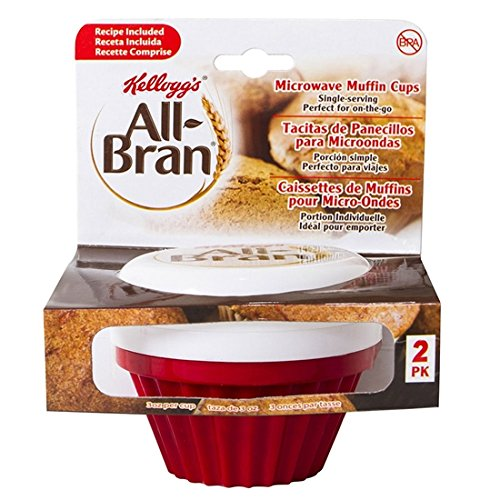 (Kellogg's All-Bran Muffin Maker - 2 Pack (Red))