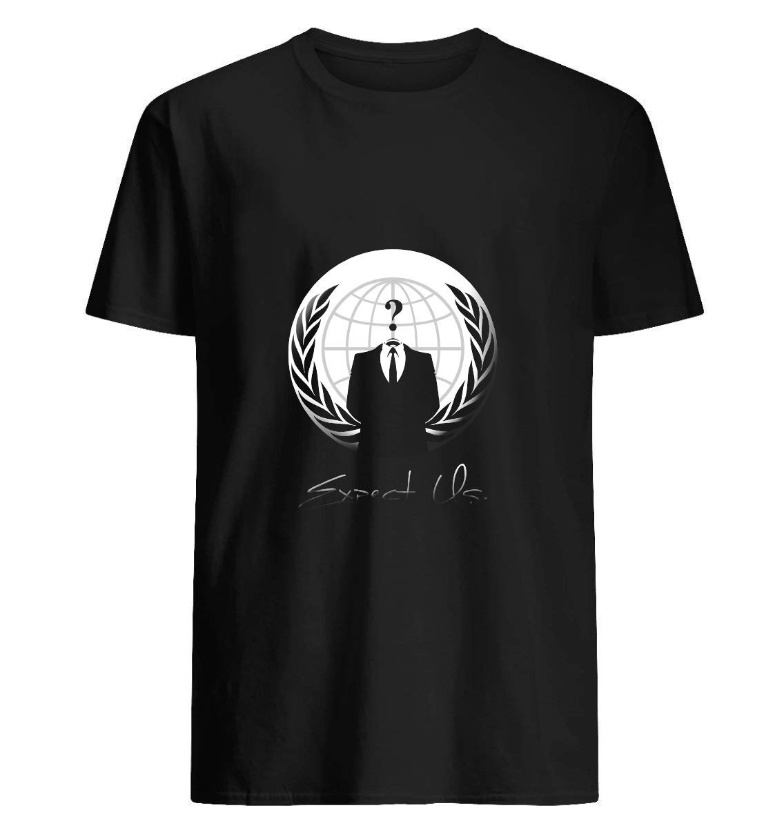 Anonymous Expect Us 56 T Shirt For Unisex
