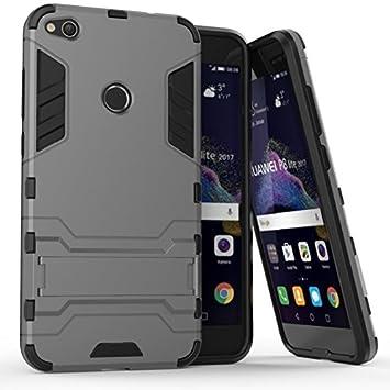 Huawei P8 Lite 2017 Funda Huawei P8 Lite 2017 Carcasa, LTWS [Armor Series] 2in1 Combinación Escudo Cáscara Dura funda carcasa case para Huawei P8 ...