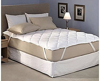 Craft Jaipur Polycotton Waterproof and Dustproof Queen Size Mattress Protector with Elastic Bands(White, 72x780-inch)