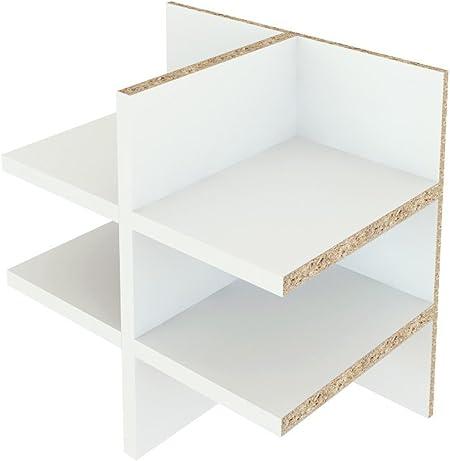 Ikea Kallax. Uso – Bandeja para cartas estante repisa/sortier para Flyer y DIN A5/Post compartimento con 6 compartimentos color: blanco