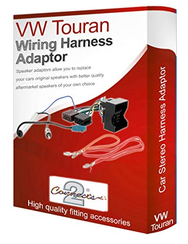 Touran radio stereo wiring harness adapter lead loom: Amazon.co.uk: Electronics