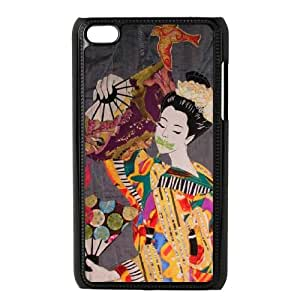 Mixed Media Geisha iPod Touch 4 Case Black Ulugj