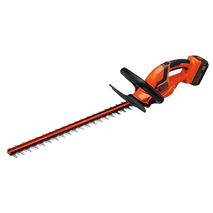 BLACK+DECKER LHT2436 40-Volt High Performance Cordless Hedge Trimmer, 24-