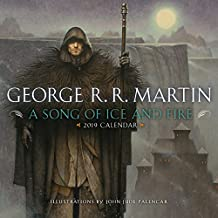 A Song of Ice and Fire 2019 Calendar: Illustrations by John Jude Palencar