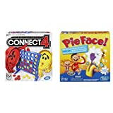 Hasbro Connect 4 Game and Pie Face Game Bundle