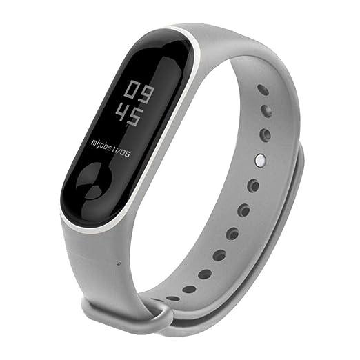 Para Xiaomi Mi Band 3, ❤ Manadlian Banda de reloj ...