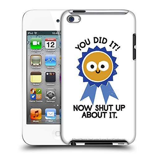 - Official David Olenick Boast Likely to Suceed Medal Objects Hard Back Case Apple iPod Touch 4G 4th Gen