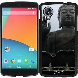 Funda para Google Nexus 5 - Buda Moreno Tian by Cadellin