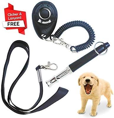 Silbato para el entrenamiento del perro educación entrenamiento del clicker