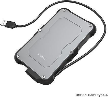 PeakLead USB 3.1 Gen1 SATA Carcasa para Disco Duro Externo de 2.5 ...
