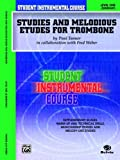 Student Instrumental Course Studies and Melodious Etudes for Trombone, Paul Tanner and Fred Weber, 0757993885