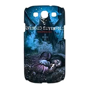 New Avenged Sevenfold A7X Band Hard Cover Skin Case For Samsung Galaxy S3 i9300-