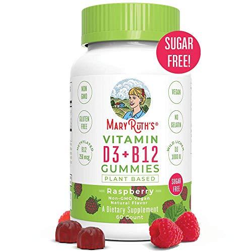 Plant Based MaryRuths Ingredients B12 methylated Raspberry