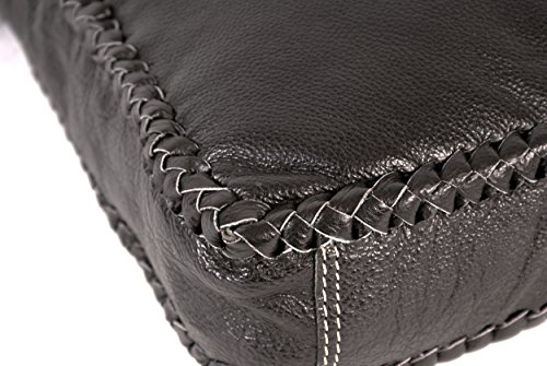 Oxbridge Satchel Shop - Bolso mochila  para mujer negro small