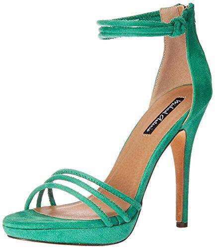 Michael Antonio Women's Trixie Wedge Sandal, Green, 6.5 M US ()